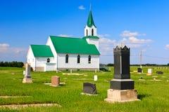 страна церков Стоковое Изображение RF