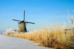 страна чудес зимы Голландии Стоковая Фотография RF