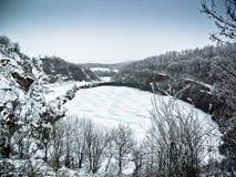 Страна чудес зимы Стоковая Фотография RF