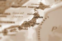 Страна Японии Стоковая Фотография