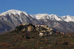 Страна Castel Сан Vincenzo стоковое фото