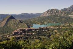 Страна Castel Сан Vincenzo стоковые фотографии rf