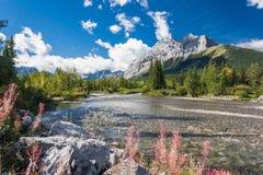 страна kananaskis Канады незабываемый Стоковая Фотография