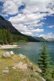 страна kananaskis Канады Стоковые Изображения