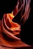 страница верхние США каньона Аризоны антилопы Стоковая Фотография