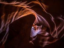 страница верхние США каньона Аризоны антилопы Стоковое фото RF
