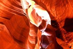 страница верхние США каньона Аризоны антилопы Стоковая Фотография RF