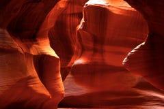 страница верхние США каньона Аризоны антилопы Стоковое Фото