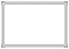 страница граници Стоковая Фотография
