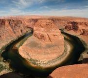 страница загиба Аризоны horseshoe близкая Стоковое Изображение