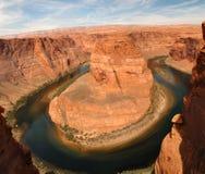 страница загиба Аризоны horseshoe близкая Стоковые Изображения