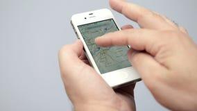 Страница имени пользователя Facebook на белой странице имени пользователя displayLiveJournal iPhone на displayGoogle iPhone белиз сток-видео
