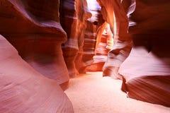 страница каньона антилопы Стоковые Фотографии RF