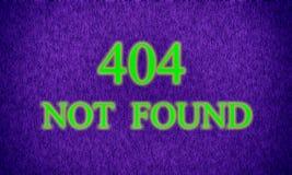 Страница не нашла, ошибка сервера 404 стоковое изображение