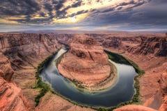 страница США тетради человека загиба Аризоны horseshoe Стоковые Изображения