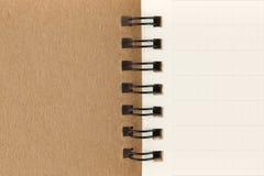 страница тетради решетки стоковые фото