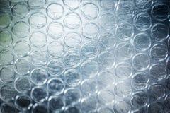 Страница ясных пузырей на упаковочном материале bubblewrap стоковое изображение rf