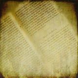 страницы античных характеров книги готские открытые Стоковое фото RF