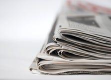 страницы газеты стоковые изображения
