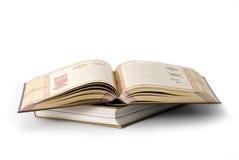 страницы книги Стоковое Изображение RF