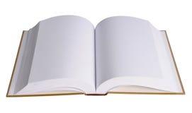 страницы пустой книги открытые Стоковая Фотография RF