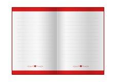Страницы для поздравлений Стоковое Изображение RF