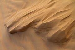 Странные образования песка которые выглядеть как скульптуры, созданные ветром Стоковые Изображения RF
