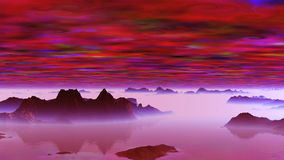 Странные облака на планете чужеземца видеоматериал