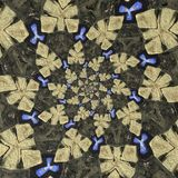 Странные форменные объекты в круговом образовании стоковое изображение rf
