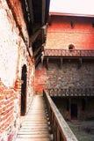 страны города замока привлекательности озеро Литва острова прописной первое обнаружило местонахождение средневековую середину бол Стоковая Фотография RF