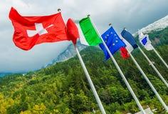 Страны Европейского союза Стоковое Изображение RF