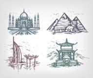 Страны мира. Бесплатная Иллюстрация