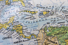 страны централи америки Стоковая Фотография