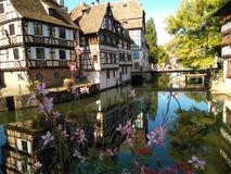 Страсбург маленькая Франция стоковые изображения