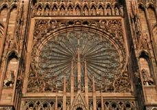 страсбург собора Стоковая Фотография