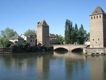 страсбург Франции города старый Стоковые Фотографии RF