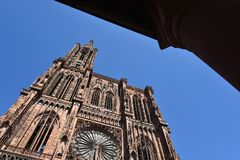 страсбург Франции собора Стоковые Фото