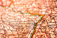 страсбург Франции Стоковое Изображение RF