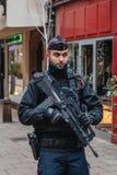 Страсбург Франция после терактов на рождественской ярмарке стоковое фото rf