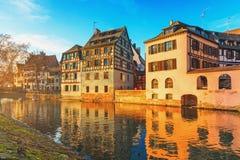 Страсбург, Эльзас, Франция Стоковые Фото