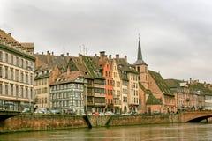 страсбург alsace Франции Стоковые Фото
