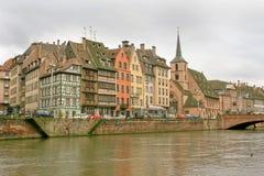 страсбург alsace Франции Стоковые Изображения