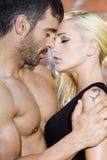 страсть пар сексуальная Стоковая Фотография