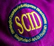 Стратегический логотип директората контрразведки на шляпе Стоковая Фотография