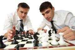 Стратегический думать стоковая фотография rf