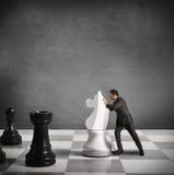 Стратегия бизнесмена Стоковые Изображения