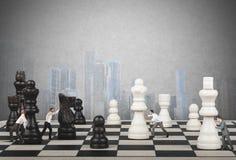 Стратегия и тактик в деле Стоковое Изображение