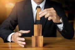Стратегия планирования, риска и богатства в концепции дела, деле Стоковые Фотографии RF