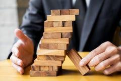 Стратегия планирования, риска и богатства в концепции дела, деле Стоковое Фото