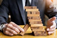 Стратегия планирования, риска и богатства в концепции дела, деле Стоковые Фото